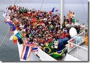 Doulos crew uit meer dan 75 landen